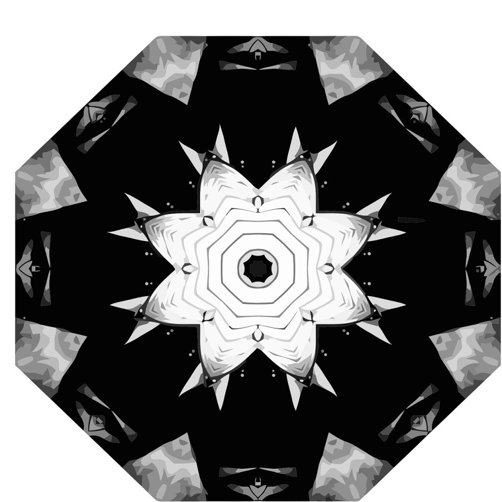 mandala, calming, coloring page