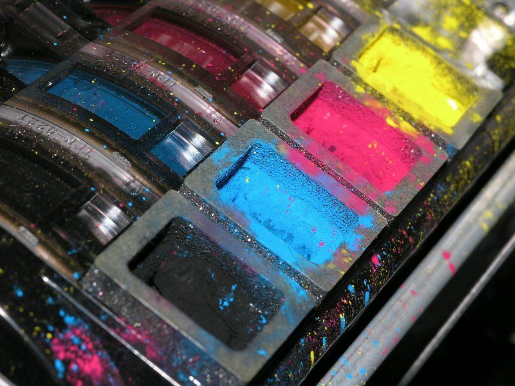 toner, color, ink
